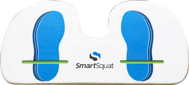 The SmartSquat foot pad.